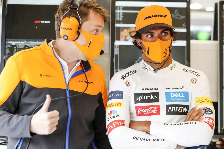 Sainz fears wet race would hamper low-downforce McLaren