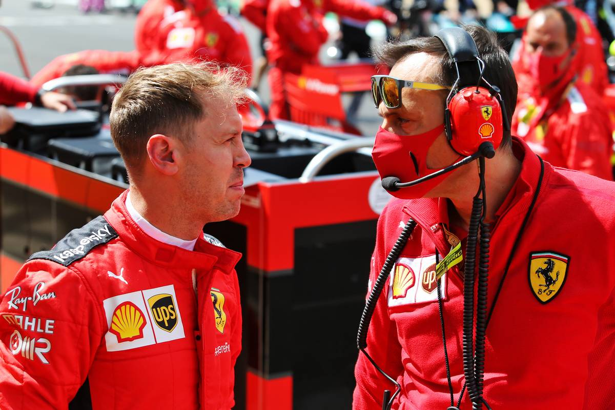 Puzzled Vettel says 'something doesn't stack up' - F1i.com