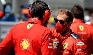 Binotto downplays rumors of tensions building with Vettel