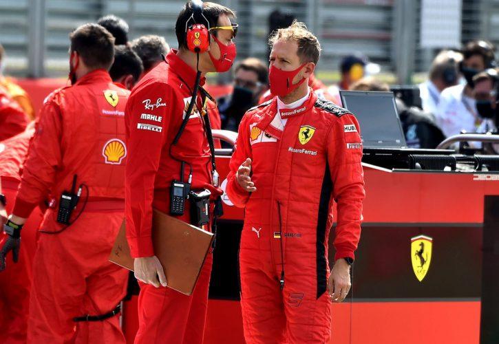 Sebastian Vettel slams Ferrari for their pitting strategy as driver finishes 12th