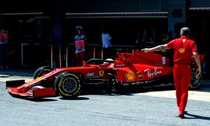 Struggling Vettel still at odds with 'up and down' SF1000