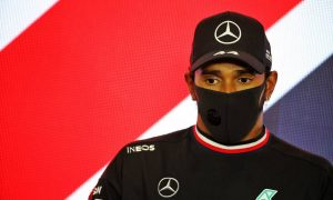 Hamilton: 'Definitely a heart-in-the-mouth' moment!