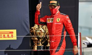 Leclerc delighted by surprise Silverstone podium