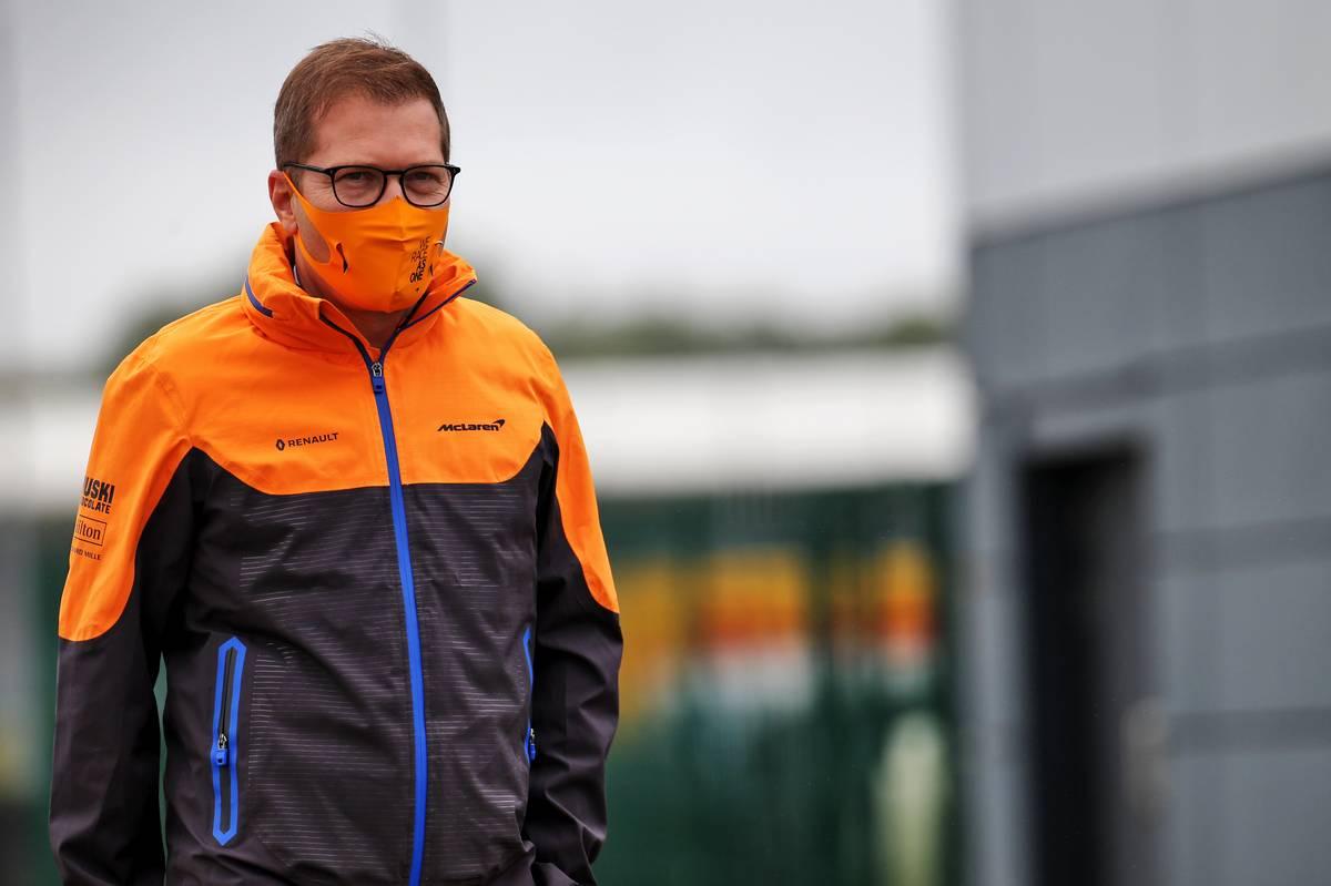 Andreas Seidl, McLaren Managing Director.