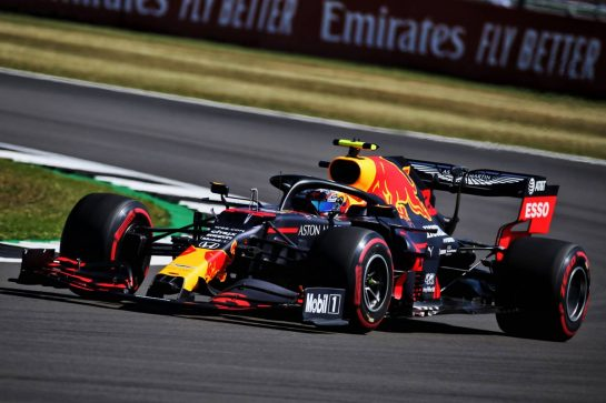 Alexander Albon (THA) Red Bull Racing RB16. 07.08.2020. Formula 1 World Championship, Rd 5, 70th Anniversary Grand Prix, Silverstone, England, Practice Day. - www.xpbimages.com, EMail: requests@xpbimages.com © Copyright: Batchelor / XPB Images