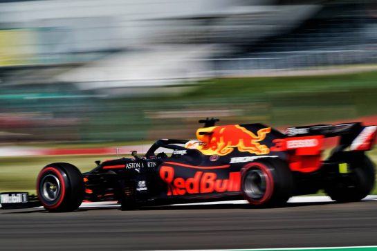 Max Verstappen (NLD) Red Bull Racing RB16.                                08.08.2020. Formula 1 World Championship, Rd 5, 70th Anniversary Grand Prix, Silverstone, England, Qualifying Day. - www.xpbimages.com, EMail: requests@xpbimages.com © Copyright: Dungan / XPB Images
