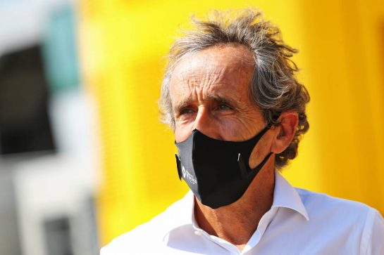 Alain Prost (FRA) Renault F1 Team Non-Executive Director. 08.08.2020. Formula 1 World Championship, Rd 5, 70th Anniversary Grand Prix, Silverstone, England, Qualifying Day. - www.xpbimages.com, EMail: requests@xpbimages.com © Copyright: Moy / XPB Images