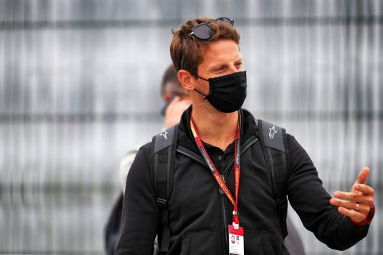 Romain Grosjean (FRA) Haas F1 Team. 09.08.2020. Formula 1 World Championship, Rd 5, 70th Anniversary Grand Prix, Silverstone, England, Race Day. - www.xpbimages.com, EMail: requests@xpbimages.com © Copyright: Batchelor / XPB Images