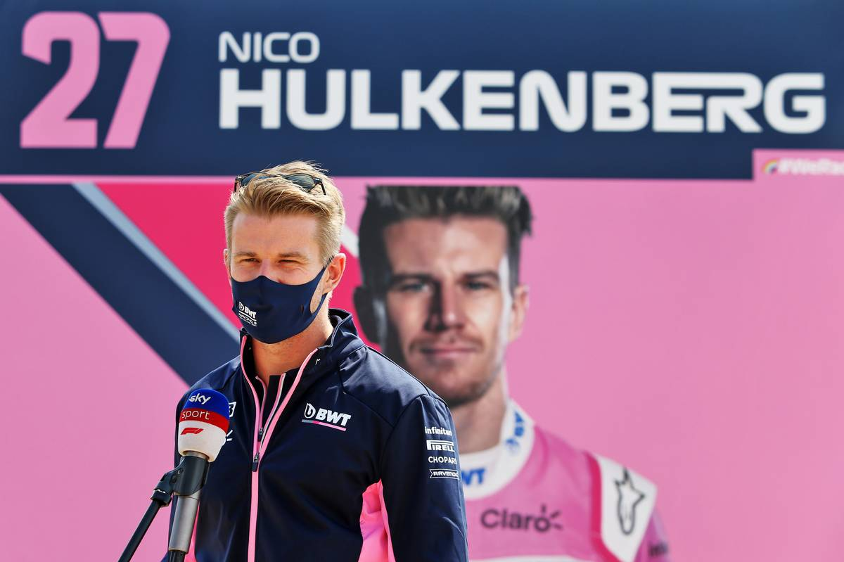 Nico Hulkenberg (GER) Racing Point F1 Team. 09.08.2020. Formula 1 World Championship, Rd 5, 70th Anniversary Grand Prix