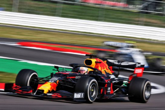Max Verstappen (NLD) Red Bull Racing RB16. 09.08.2020. Formula 1 World Championship, Rd 5, 70th Anniversary Grand Prix, Silverstone, England, Race Day. - www.xpbimages.com, EMail: requests@xpbimages.com © Copyright: Batchelor / XPB Images