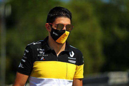Esteban Ocon (FRA) Renault F1 Team. 13.08.2020. Formula 1 World Championship, Rd 6, Spanish Grand Prix, Barcelona, Spain, Preparation Day. - www.xpbimages.com, EMail: requests@xpbimages.com © Copyright: Filipe / XPB Images