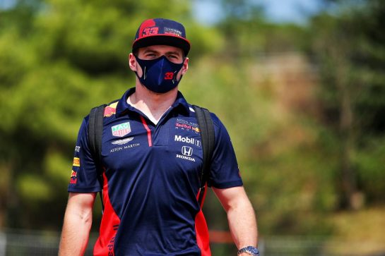 Max Verstappen (NLD) Red Bull Racing. 13.08.2020. Formula 1 World Championship, Rd 6, Spanish Grand Prix, Barcelona, Spain, Preparation Day. - www.xpbimages.com, EMail: requests@xpbimages.com © Copyright: Filipe / XPB Images