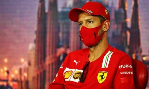Vettel denies tensions are brewing at Ferrari amid poor results