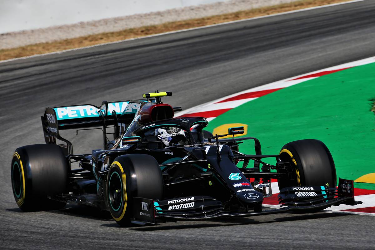 Bottas tops FP1 in Barcelona from Hamilton and Verstappen