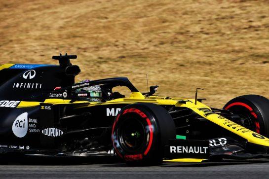Daniel Ricciardo (AUS) Renault F1 Team RS20. 14.08.2020 Formula 1 World Championship, Rd 6, Spanish Grand Prix, Barcelona, Spain, Practice Day. - www.xpbimages.com, EMail: requests@xpbimages.com © Copyright: Batchelor / XPB Images