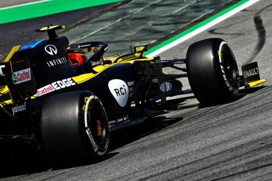 Esteban Ocon (FRA) Renault F1 Team RS20. 14.08.2020 Formula 1 World Championship, Rd 6, Spanish Grand Prix, Barcelona, Spain, Practice Day. - www.xpbimages.com, EMail: requests@xpbimages.com © Copyright: Batchelor / XPB Images