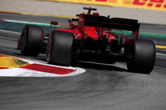 Sebastian Vettel (GER) Ferrari SF1000.14.08.2020 Formula 1 World Championship, Rd 6, Spanish Grand Prix, Barcelona, Spain, Practice Day.- www.xpbimages.com, EMail: requests@xpbimages.com © Copyright: Batchelor / XPB Images