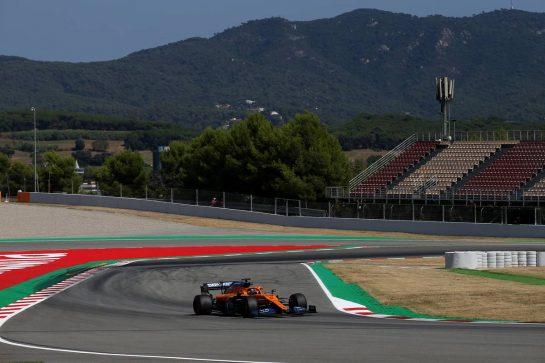 Carlos Sainz Jr (ESP) McLaren MCL35.14.08.2020 Formula 1 World Championship, Rd 6, Spanish Grand Prix, Barcelona, Spain, Practice Day.- www.xpbimages.com, EMail: requests@xpbimages.com © Copyright: Batchelor / XPB Images