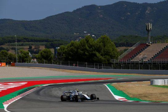 Nicholas Latifi (CDN) Williams Racing FW43.14.08.2020 Formula 1 World Championship, Rd 6, Spanish Grand Prix, Barcelona, Spain, Practice Day.- www.xpbimages.com, EMail: requests@xpbimages.com © Copyright: Batchelor / XPB Images