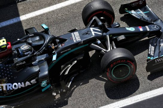 Valtteri Bottas (FIN) Mercedes AMG F1 W11. 15.08.2020. Formula 1 World Championship, Rd 6, Spanish Grand Prix, Barcelona, Spain, Qualifying Day. - www.xpbimages.com, EMail: requests@xpbimages.com © Copyright: Bearne / XPB Images