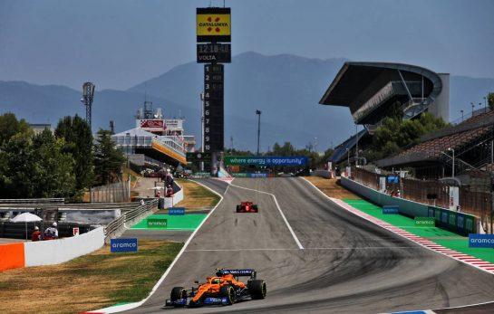 Lando Norris (GBR) McLaren MCL35. 15.08.2020. Formula 1 World Championship, Rd 6, Spanish Grand Prix, Barcelona, Spain, Qualifying Day. - www.xpbimages.com, EMail: requests@xpbimages.com © Copyright: Batchelor / XPB Images