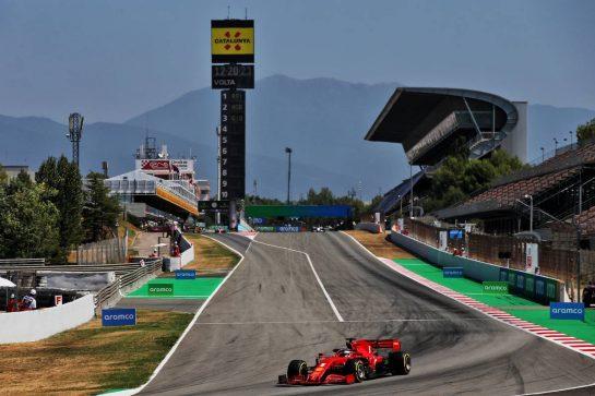 Sebastian Vettel (GER) Ferrari SF1000. 15.08.2020. Formula 1 World Championship, Rd 6, Spanish Grand Prix, Barcelona, Spain, Qualifying Day. - www.xpbimages.com, EMail: requests@xpbimages.com © Copyright: Batchelor / XPB Images