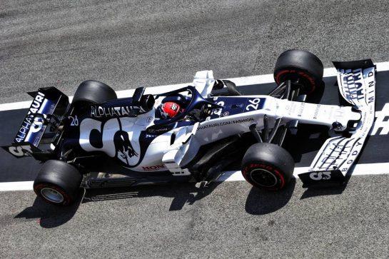 Daniil Kvyat (RUS) AlphaTauri AT01. 15.08.2020. Formula 1 World Championship, Rd 6, Spanish Grand Prix, Barcelona, Spain, Qualifying Day. - www.xpbimages.com, EMail: requests@xpbimages.com © Copyright: Bearne / XPB Images