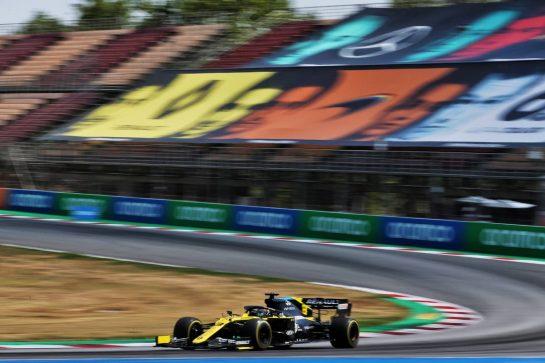 Daniel Ricciardo (AUS) Renault F1 Team RS20. 15.08.2020. Formula 1 World Championship, Rd 6, Spanish Grand Prix, Barcelona, Spain, Qualifying Day. - www.xpbimages.com, EMail: requests@xpbimages.com © Copyright: Batchelor / XPB Images