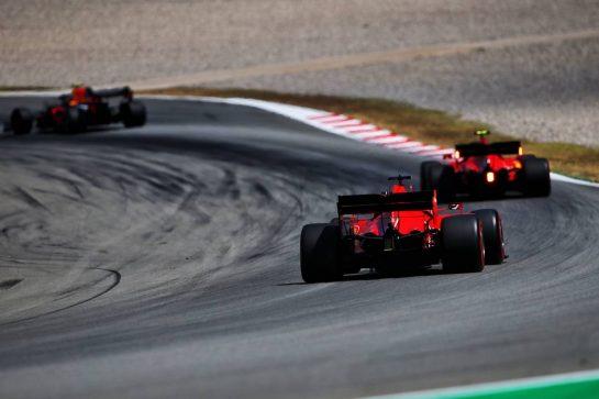 Sebastian Vettel (GER) Ferrari SF1000. 15.08.2020. Formula 1 World Championship, Rd 6, Spanish Grand Prix, Barcelona, Spain, Qualifying Day. - www.xpbimages.com, EMail: requests@xpbimages.com © Copyright: Filipe / XPB Images