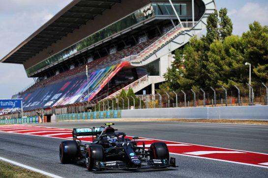 Valtteri Bottas (FIN) Mercedes AMG F1 W11. 15.08.2020. Formula 1 World Championship, Rd 6, Spanish Grand Prix, Barcelona, Spain, Qualifying Day. - www.xpbimages.com, EMail: requests@xpbimages.com © Copyright: Batchelor / XPB Images
