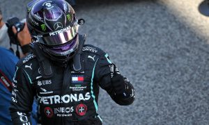 Hamilton and Bottas lock-out Barcelona front row