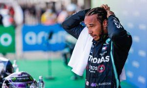 Hamilton admits he's feeling the heat in Barcelona