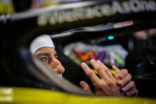 Daniel Ricciardo (AUS) Renault F1 Team RS20. 15.08.2020. Formula 1 World Championship, Rd 6, Spanish Grand Prix, Barcelona, Spain, Qualifying Day. - www.xpbimages.com, EMail: requests@xpbimages.com © Copyright: Charniaux / XPB Images