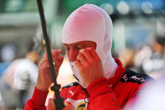 Sebastian Vettel (GER) Ferrari on the grid. 16.08.2020. Formula 1 World Championship, Rd 6, Spanish Grand Prix, Barcelona, Spain, Race Day. - www.xpbimages.com, EMail: requests@xpbimages.com © Copyright: Batchelor / XPB Images