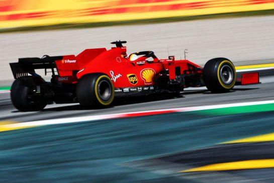 Sebastian Vettel (GER) Ferrari SF1000. 16.08.2020. Formula 1 World Championship, Rd 6, Spanish Grand Prix, Barcelona, Spain, Race Day. - www.xpbimages.com, EMail: requests@xpbimages.com © Copyright: Filipe / XPB Images