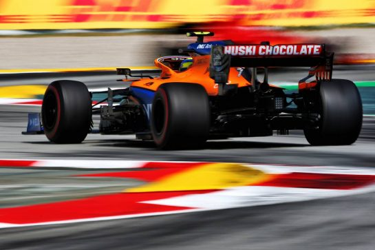 Lando Norris (GBR) McLaren MCL35. 16.08.2020. Formula 1 World Championship, Rd 6, Spanish Grand Prix, Barcelona, Spain, Race Day. - www.xpbimages.com, EMail: requests@xpbimages.com © Copyright: Filipe / XPB Images