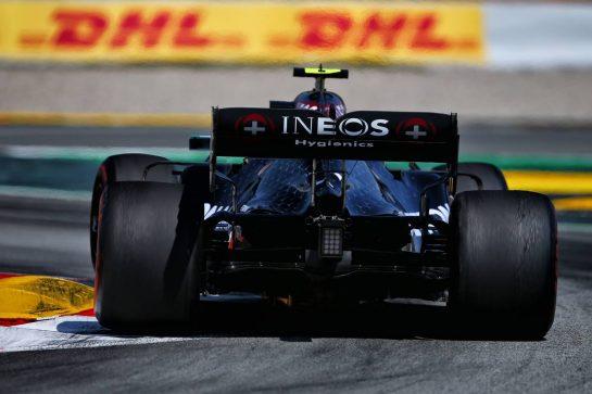 Valtteri Bottas (FIN) Mercedes AMG F1 W11. 16.08.2020. Formula 1 World Championship, Rd 6, Spanish Grand Prix, Barcelona, Spain, Race Day. - www.xpbimages.com, EMail: requests@xpbimages.com © Copyright: Filipe / XPB Images