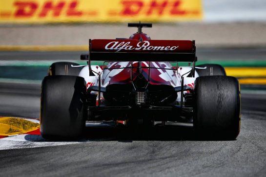 Kimi Raikkonen (FIN) Alfa Romeo Racing C39. 16.08.2020. Formula 1 World Championship, Rd 6, Spanish Grand Prix, Barcelona, Spain, Race Day. - www.xpbimages.com, EMail: requests@xpbimages.com © Copyright: Filipe / XPB Images