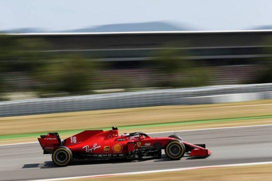 Charles Leclerc (MON) Ferrari SF1000. 16.08.2020. Formula 1 World Championship, Rd 6, Spanish Grand Prix, Barcelona, Spain, Race Day. - www.xpbimages.com, EMail: requests@xpbimages.com © Copyright: Filipe / XPB Images