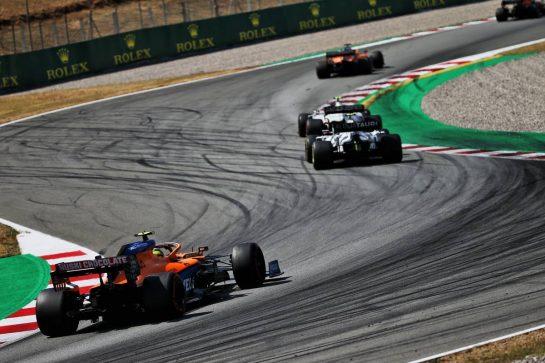 Lando Norris (GBR) McLaren MCL35. 16.08.2020. Formula 1 World Championship, Rd 6, Spanish Grand Prix, Barcelona, Spain, Race Day. - www.xpbimages.com, EMail: requests@xpbimages.com © Copyright: Batchelor / XPB Images