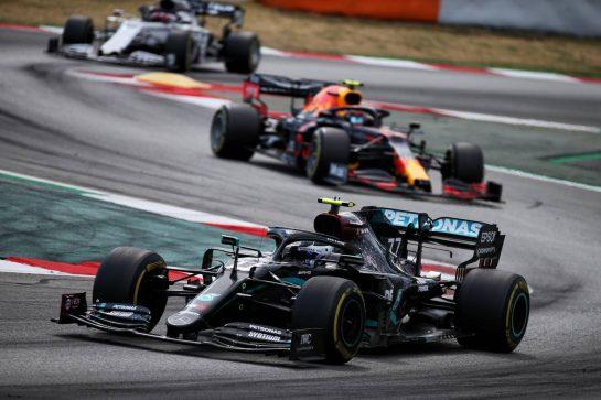 Valtteri Bottas (FIN) Mercedes AMG F1 W11. 16.08.2020. Formula 1 World Championship, Rd 6, Spanish Grand Prix, Barcelona, Spain, Race Day. - www.xpbimages.com, EMail: requests@xpbimages.com © Copyright: Batchelor / XPB Images