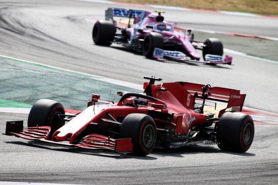 Sebastian Vettel (GER) Ferrari SF1000. 16.08.2020. Formula 1 World Championship, Rd 6, Spanish Grand Prix, Barcelona, Spain, Race Day. - www.xpbimages.com, EMail: requests@xpbimages.com © Copyright: Batchelor / XPB Images