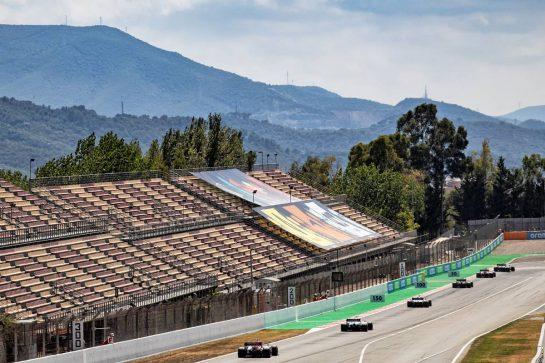 Antonio Giovinazzi (ITA) Alfa Romeo Racing C39. 16.08.2020. Formula 1 World Championship, Rd 6, Spanish Grand Prix, Barcelona, Spain, Race Day. - www.xpbimages.com, EMail: requests@xpbimages.com © Copyright: Bearne / XPB Images
