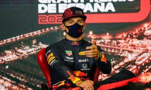 Verstappen insists he's 'happy' despite team radio outburst