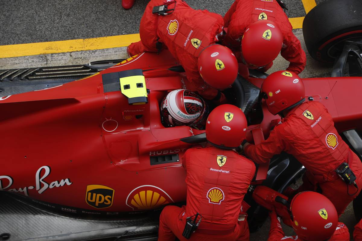 Charles Leclerc (MON) Ferrari SF1000 retired from the race.