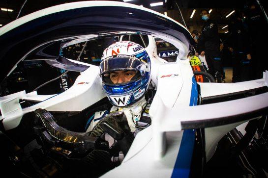 Nicholas Latifi (CDN) Williams Racing FW43. 28.08.2020. Formula 1 World Championship, Rd 7, Belgian Grand Prix, Spa Francorchamps, Belgium, Practice Day. - www.xpbimages.com, EMail: requests@xpbimages.com © Copyright: Bearne / XPB Images