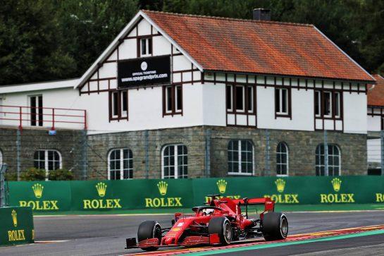 Sebastian Vettel (GER) Ferrari SF1000. 28.08.2020. Formula 1 World Championship, Rd 7, Belgian Grand Prix, Spa Francorchamps, Belgium, Practice Day. - www.xpbimages.com, EMail: requests@xpbimages.com © Copyright: Batchelor / XPB Images
