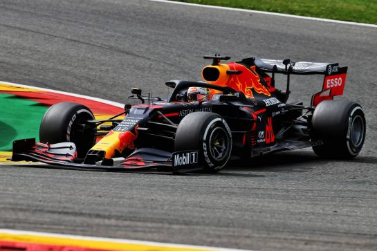 Max Verstappen (NLD) Red Bull Racing RB16. 28.08.2020. Formula 1 World Championship, Rd 7, Belgian Grand Prix, Spa Francorchamps, Belgium, Practice Day. - www.xpbimages.com, EMail: requests@xpbimages.com © Copyright: Batchelor / XPB Images