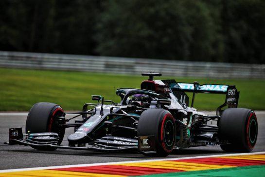 Lewis Hamilton (GBR) Mercedes AMG F1 W11. 28.08.2020. Formula 1 World Championship, Rd 7, Belgian Grand Prix, Spa Francorchamps, Belgium, Practice Day. - www.xpbimages.com, EMail: requests@xpbimages.com © Copyright: Batchelor / XPB Images