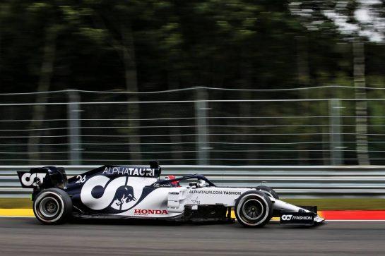 Daniil Kvyat (RUS) AlphaTauri AT01. 28.08.2020. Formula 1 World Championship, Rd 7, Belgian Grand Prix, Spa Francorchamps, Belgium, Practice Day. - www.xpbimages.com, EMail: requests@xpbimages.com © Copyright: Batchelor / XPB Images